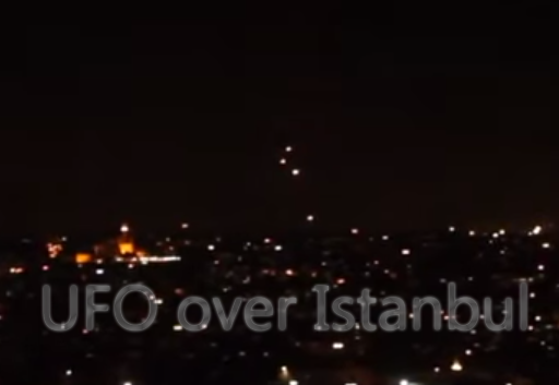 UFO over Istanbul