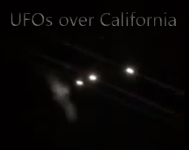 ufos over california
