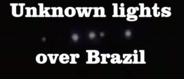 unknown lights over Brazil