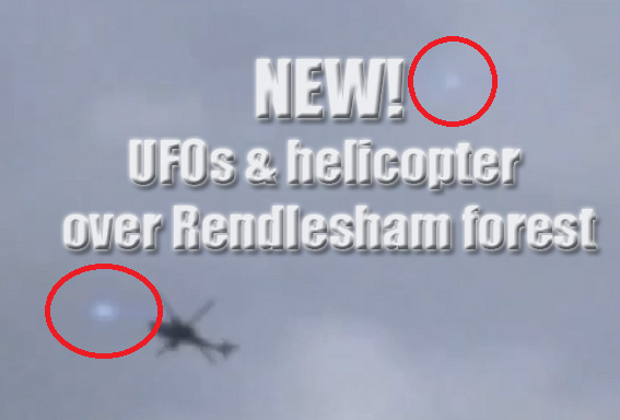 UFOs over Rendlesham