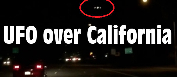 UFO over California