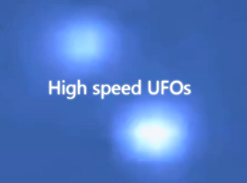 high speed ufos