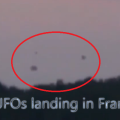 ufos landing in france