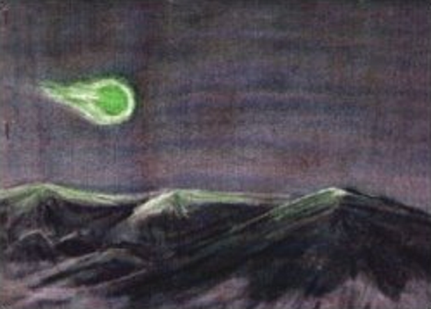 New Mexico Green Fireball Sightings