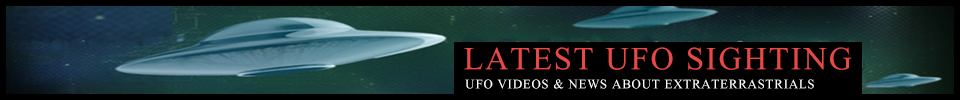 UFO sightings, latest videos and news