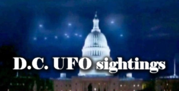 DC UFO sightings