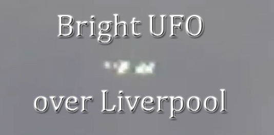 Bright UFOs flying over Liverpool, UK – 17-Aug-2014