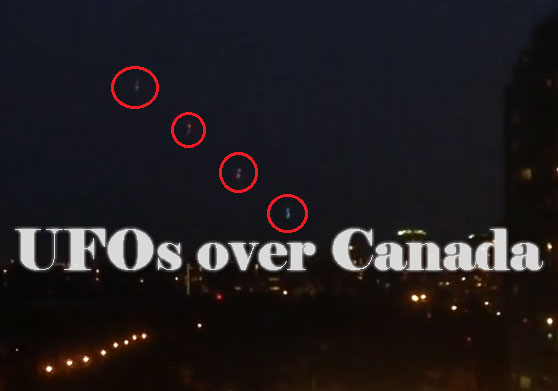 ufos over canada