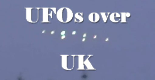 UFO's Caught On Tape Above Bournmouth, UFO Sighting News