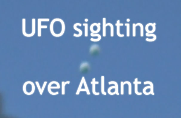 Atlanta UFO sighting