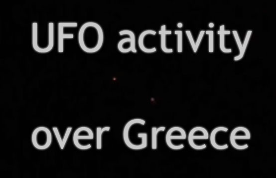 Greece UFOs