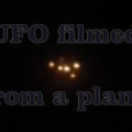 UFO from a plane UK