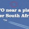 VIDEO: UFO flying near an airplane over Pretoria, South Africa 8-Sep-2014