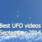 Most remarkable UFO sightings in September 2014