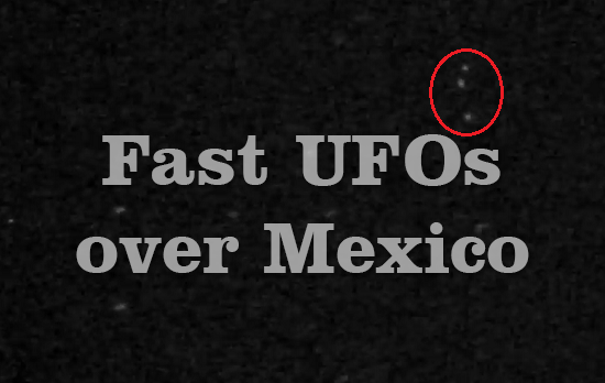 UFOs over Mexico