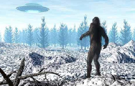 bigfoot ufos