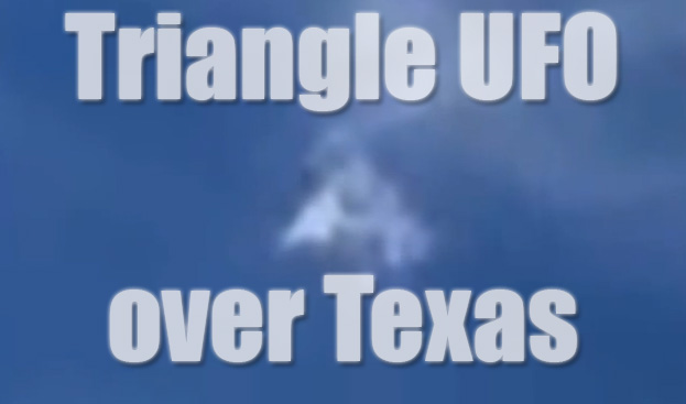 triangle ufo texas
