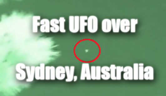 New video of a very fast and huge ufo flying and making maneuvers over