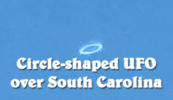 South Carolina ring UFO