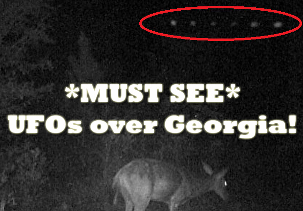 UFOs over Georgia
