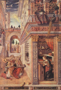The Annunciation with Saint Emidius