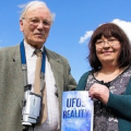 Roy Dutton with 'abductee' Valerie Walters