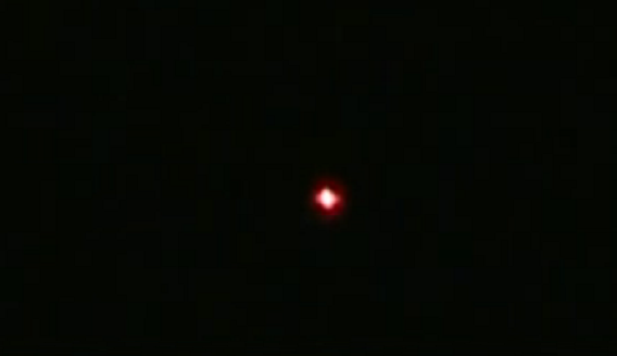 Nighttime lights raise speculations of a ufo visiting Vibeline