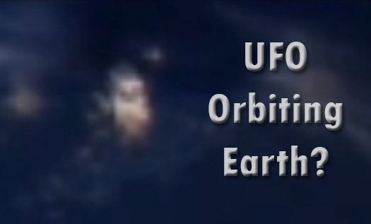 ufo orbiting earth