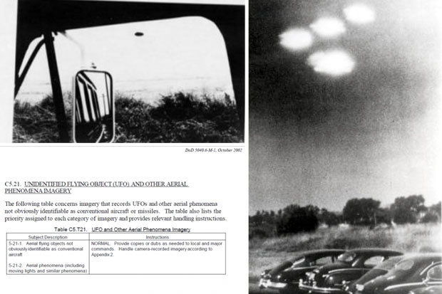 Us Military Reveals Instructions On How To Photograph Ufos