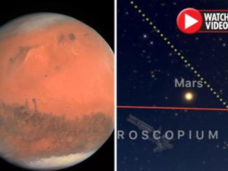 UFO on Mars