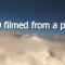 Amazing video: UFO filmed from a plane