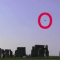 Captured Black 'Flying Saucer' Hovering Over Stonehenge