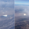An Airline Passenger Captures UFO Images During A Flight From California To Texas