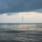 Watch Viral Video Of Diamond UFO Hovering Over Sea