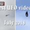 Most remarkable UFO sightings in July 2018